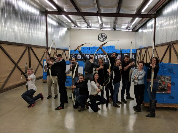 Lindsey's Birthday Surprise: Archery